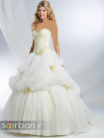 لباس عروس پرنسسی دیزنی23