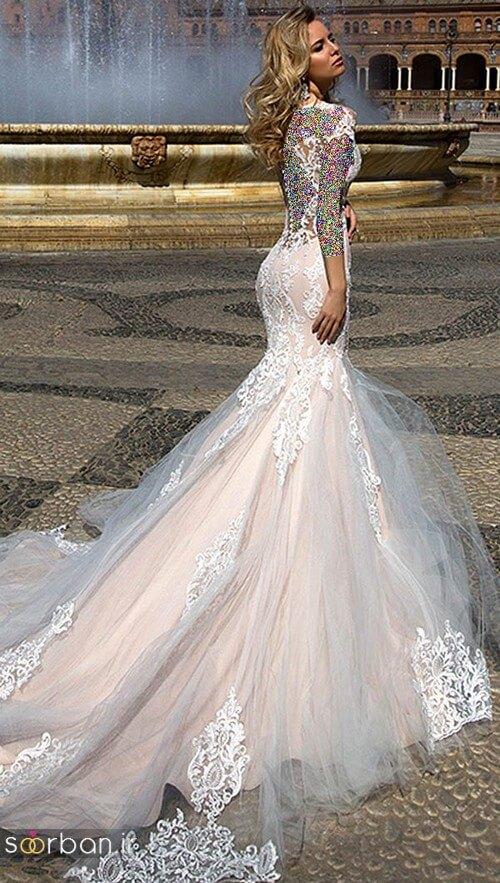 لباس عروسی جدید و شیک1