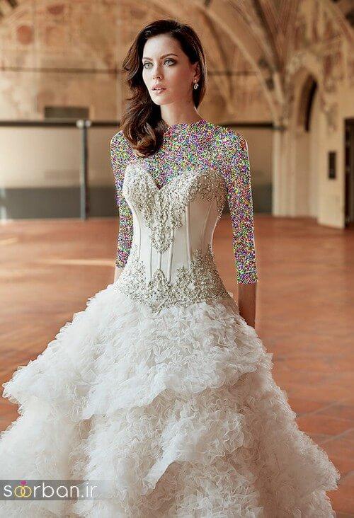 لباس عروسی جدید و شیک11
