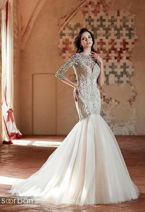 لباس عروسی جدید و شیک12