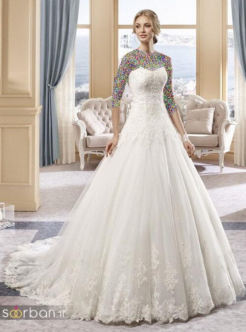 لباس عروسی جدید و شیک19