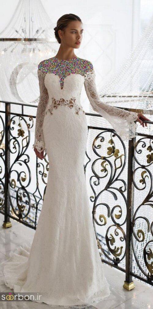 لباس عروسی جدید و شیک22