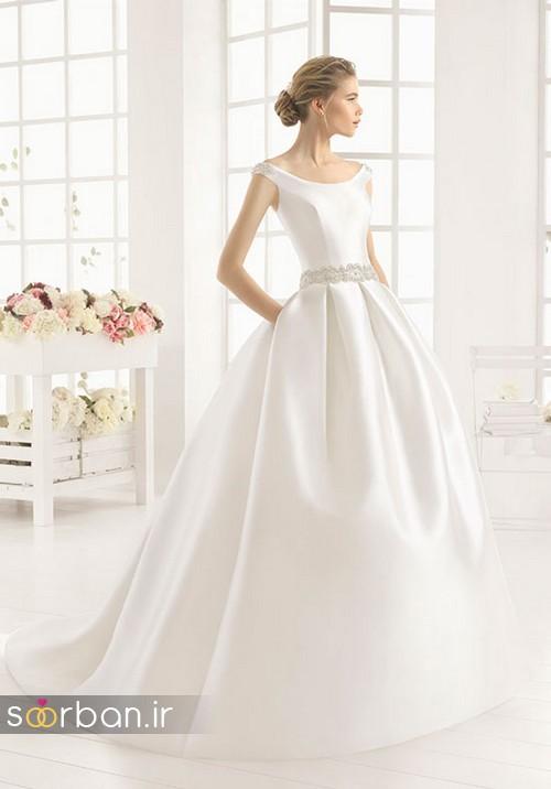 لباس عروس پفی زیبا 14