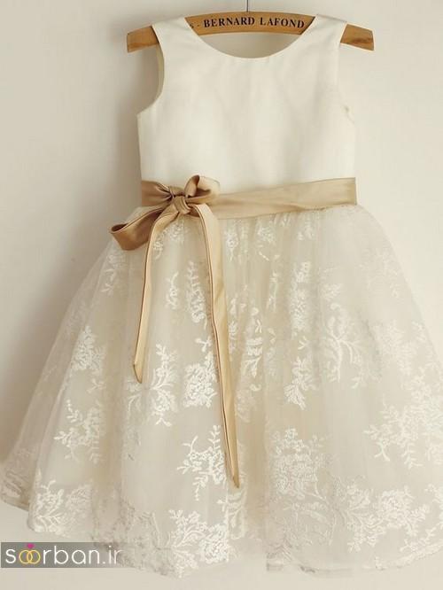 لباس عروس بچه گانه جدید و زیبا