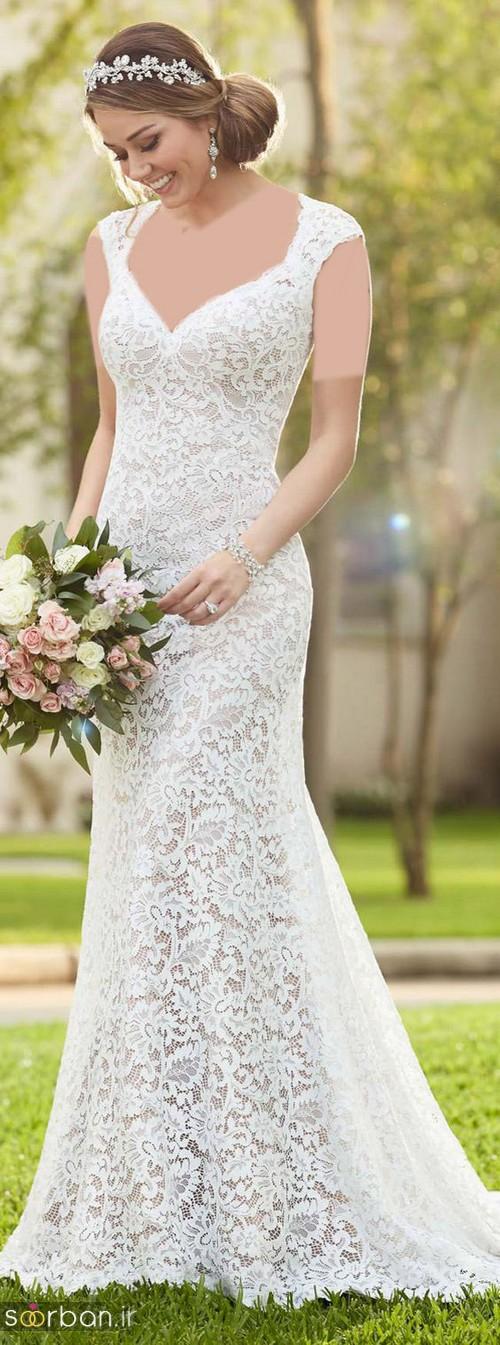 لباس عروس گیپور خاص و بسیار شیک 2017