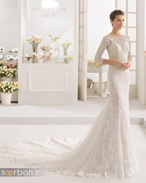 لباس عروس دانتل1