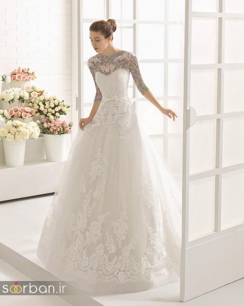 لباس عروس دانتل4