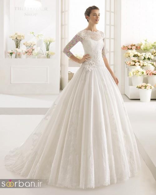 لباس عروس دانتل5