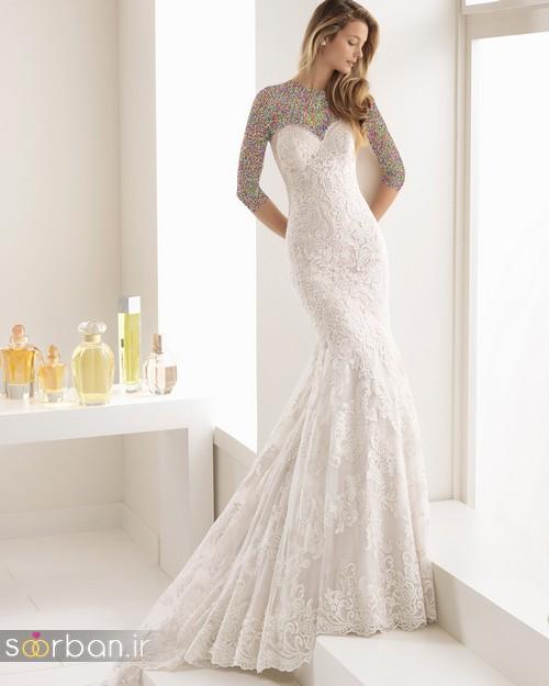 لباس عروس دانتل9