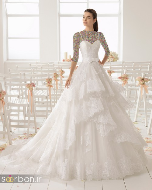 لباس عروس دانتل10