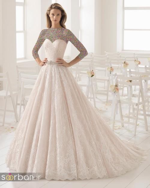 لباس عروس دانتل11