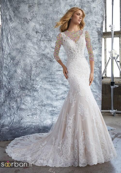 لباس عروس دانتل17