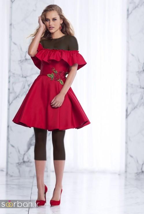 جدیدترین مدل های لباس مجلسی کوتاه دخترانه-04
