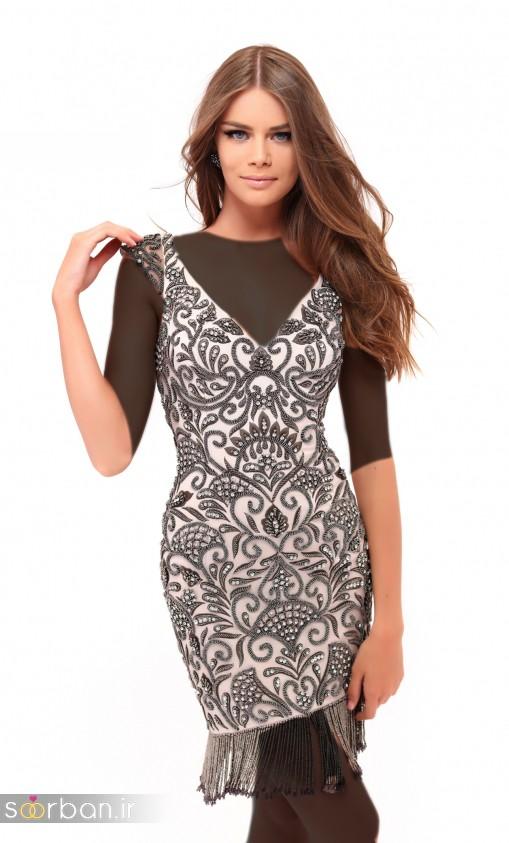 جدیدترین مدل های لباس مجلسی کوتاه دخترانه-07