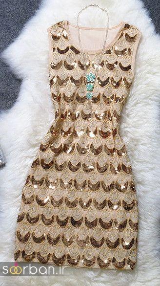 جدیدترین مدل های لباس مجلسی کوتاه دخترانه-11