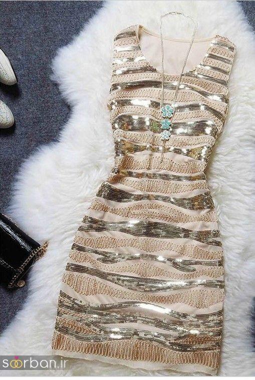 جدیدترین مدل های لباس مجلسی کوتاه دخترانه-13