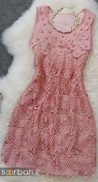 جدیدترین مدل های لباس مجلسی کوتاه دخترانه-15