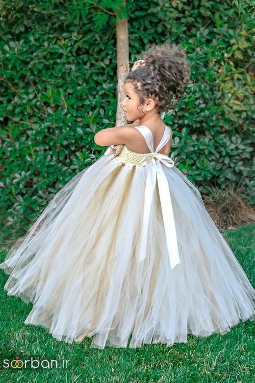 لباس عروس بچگانه 2020 شیک و بسیار زیبا