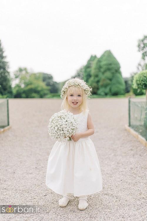 لباس عروس بچگانه 2020 شیک جدید زیبا