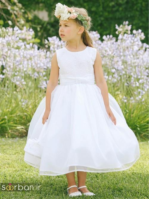 لباس عروس بچگانه 2020 شیک جدید