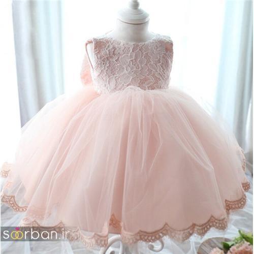 لباس عروس بچگانه 2020 شیک جدید پفی