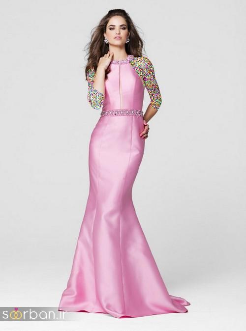 مدل لباس مجلسی بلند زیبا و بلند 96
