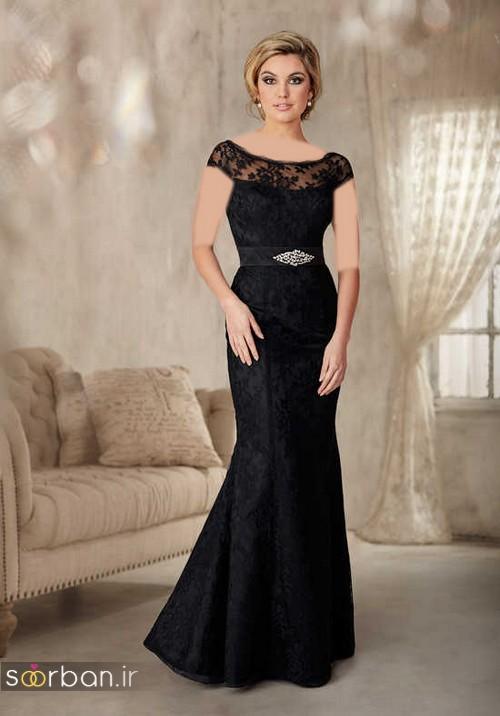 لباس مجلسی مادر عروس  جدید-15