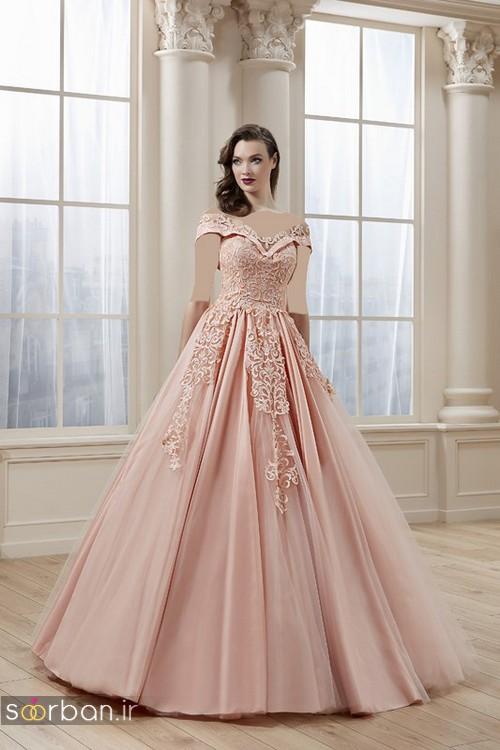 لباس نامزدی پرنسسی شیک و زیبا