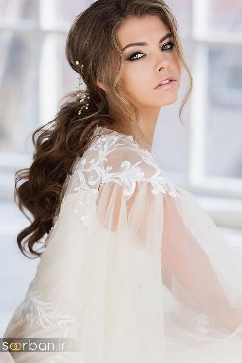 مدل آرایش میکاپ و مدل مو عروس جدید