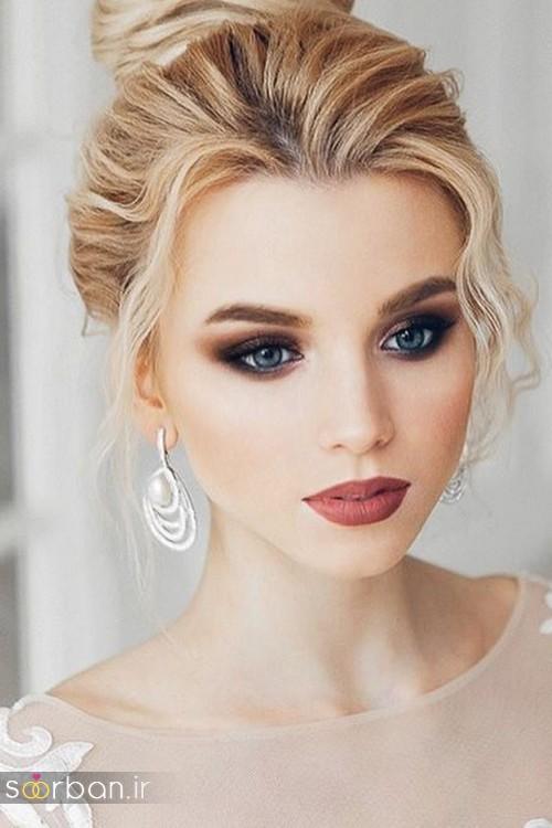 مدل آرایش میکاپ و مدل مو عروس جدید شیک و خوشگل