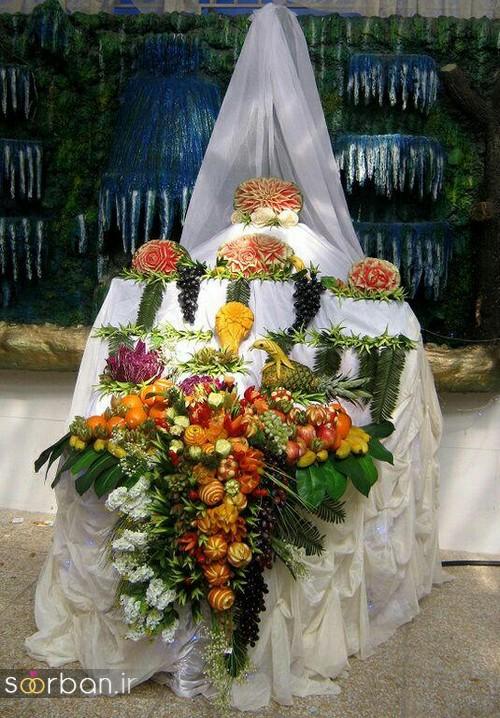 چیدمان و تزیین شب یلدا عروس-12