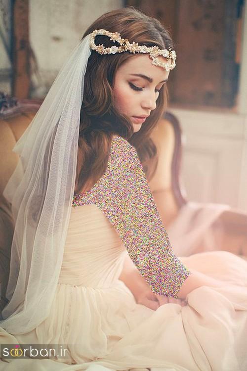 عکس مدل مدل مو عروس با تور شیک و مدرن