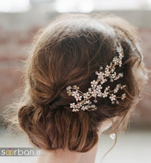 شینیون مو کوتاه عروس جدید 5