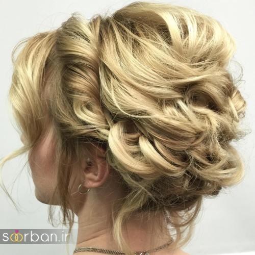 شینیون مو کوتاه عروس جدید 6
