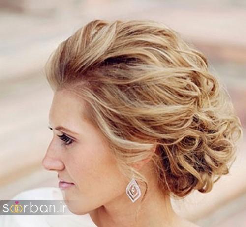 عکس مدل مو کوتاه عروس شیک