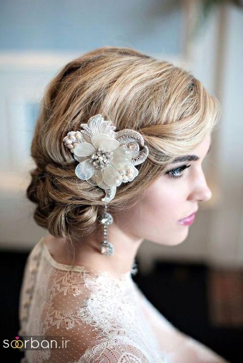 مدل مو کوتاه عروس شیک و خاص