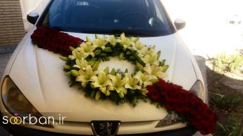 عکس ماشین عروس جدید و شیک-5