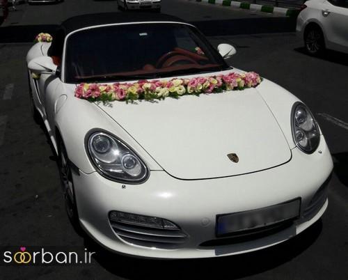 عکس ماشین عروس جدید و شیک-6