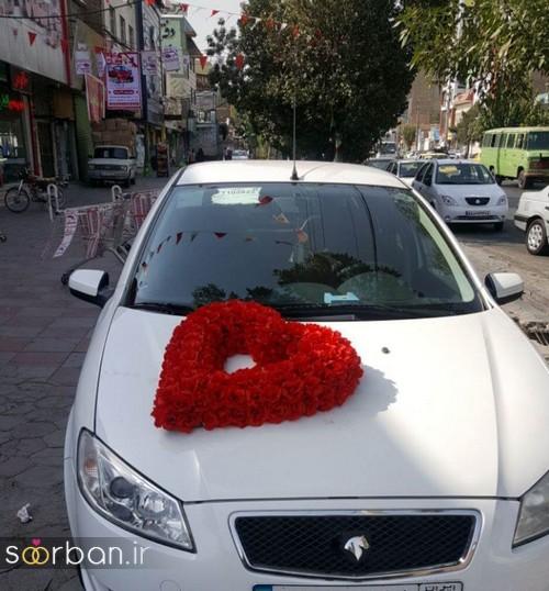 عکس ماشین عروس جدید و شیک-21