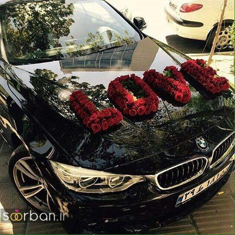40 تزیین ماشین عروس 99