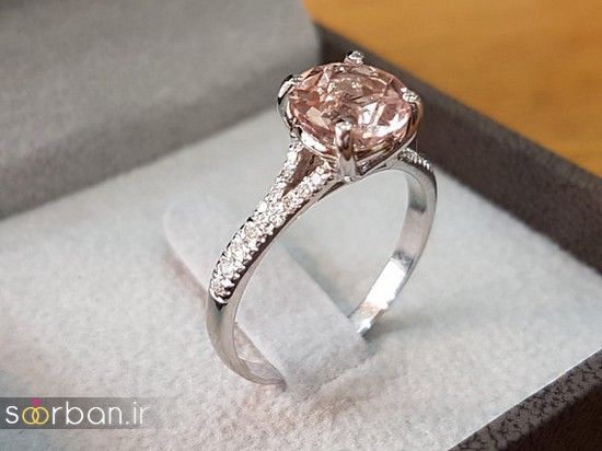 حلقه نامزدی رز گلد/ انگشتر عروس جدید رزگلد-10