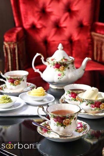 مدل سرویس چای خوری جهیزیه عروس