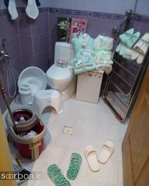 سرویس بهداشتی و دستشویی جدید جهیزیه عروس 22