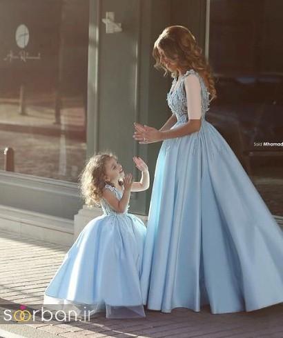 ست لباس مادر دختر مجلسی جدید و زیبا15