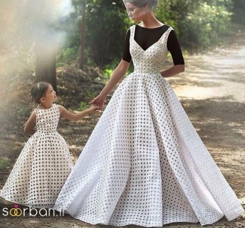 ست لباس مادر دختر مجلسی جدید و زیبا0