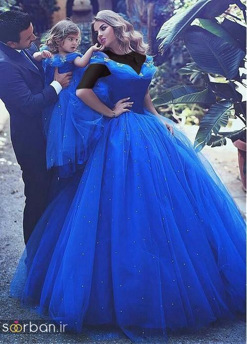 ست لباس مادر دختر مجلسی جدید و زیبا21