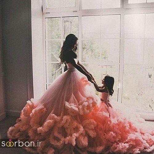 ست لباس مادر دختر مجلسی جدید و زیبا22
