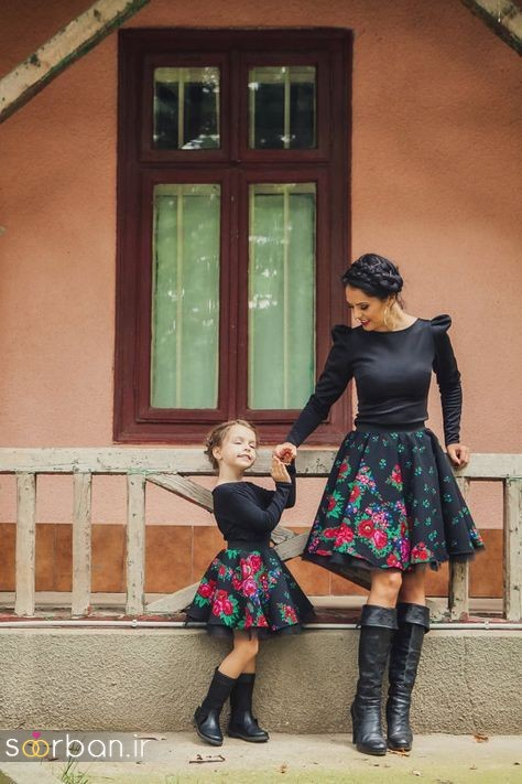 ست لباس مادر دختر مجلسی جدید و زیبا24