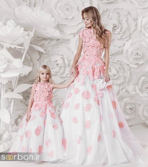 ست لباس شب دختر مادر جدید