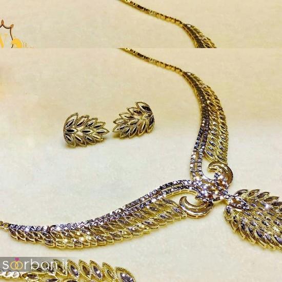 سرویس طلای عروس - نیم ست طلای عروس-15